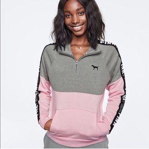 Vs Pink Perfect Quarter Zip S